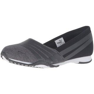 PUMA Women's Asha Alt 2 Jersey Wn's Sandal, Dark Shadow/Black, 10.5 M US