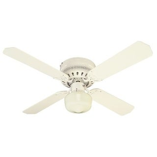 "Westinghouse 7812600 Casanova Supreme 42"" 4 Blade Hugger Indoor Ceiling Fan with"