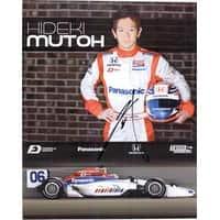 Signed Mutoh Hideki 8x10 Promo autographed
