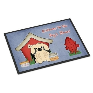 Carolines Treasures BB2860JMAT Dog House Collection Pekingnese Cream Indoor or Outdoor Mat 24 x 0.25 x 36 in.