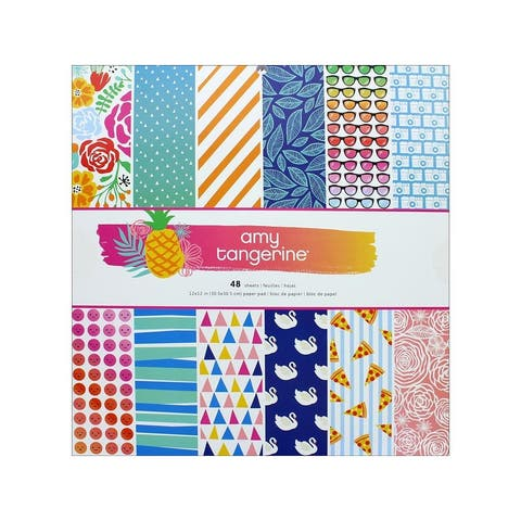 378743 amc at on a whim paper pad 12x12