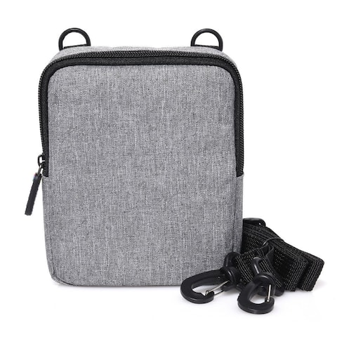 Polaroid Soft Camera Case W/ Built-In Slot for Photo Paper For Polaroid POP Instant Camera - Grey