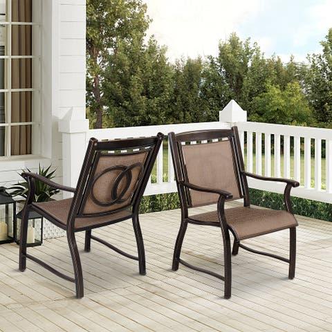 Outdoor Furniture Patio Aluminum Dining Chair