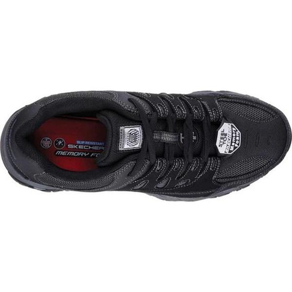 Skechers for Work Mens Holdredge Steel Toe Work Shoe