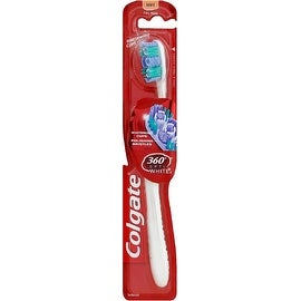 Colgate 360 Optic White Soft Full Head Toothbrush 1 ea