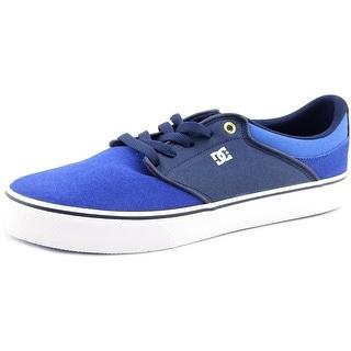 DC Shoes Mikey Taylor Vulc Men Round Toe Leather Blue Skate Shoe