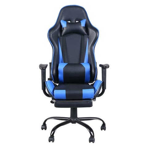 Zimtown High Back Swivel Chair Racing Gaming Chair Office Chair
