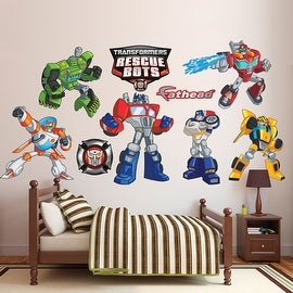 Transformers Rescue Bots Collection Wall Decal