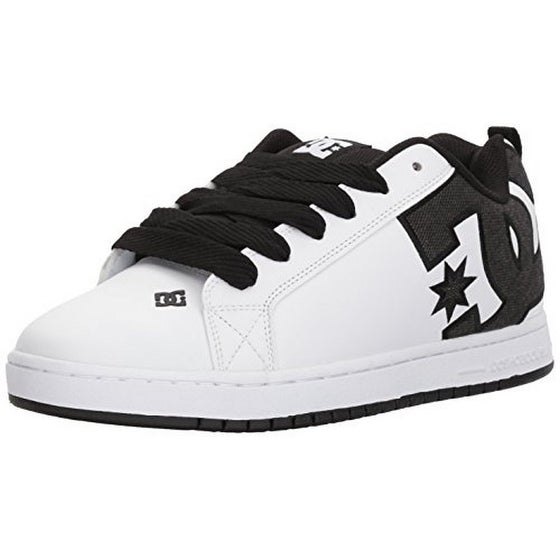 Dc Mens Ct Graffik Se M Shoe, Black/White/White, 7.5