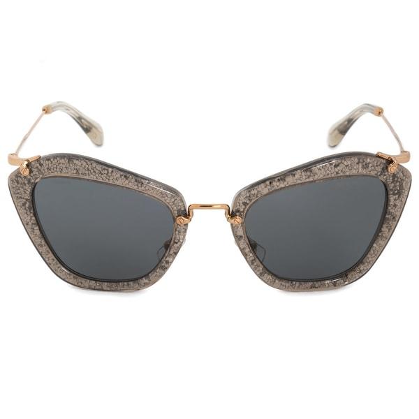 f1da63250562 Shop Miu Miu Butterfly Sunglasses SMU10NS IAH1A1 55 - Free Shipping ...