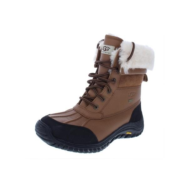 Shop Ugg Womens Adirondack Winter Boots Leather Waterproof