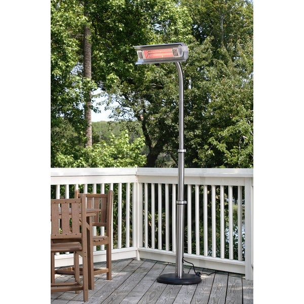 Etonnant Fire Sense 02117 Stainless Steel Offset Infrared Patio Heater   STAINLESS  STEEL