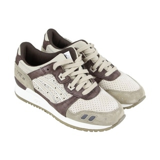 Asics Gel lyte 3 Mens Tan Suede Athletic Lace Up Running Shoes