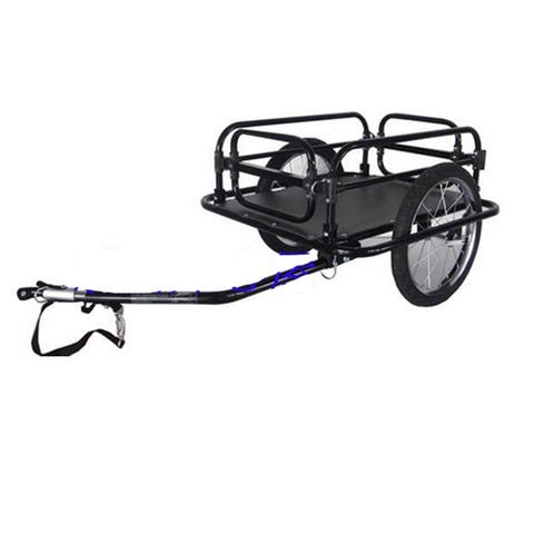 two wheel foldable bicycle bike trailer luggage barrow baggage car cargo trailer mountain bike cargo trailer load cargo