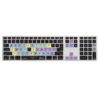 KB Covers Final Cut Pro X (French-AZERTY) Keyboard Cover for Apple Ultra-Thin Keyboard w/ Num Pad (FCPX-AK-AZY-2)