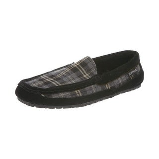 Bearpaw Slippers Mens Peeta Indoor Outdoor Wool Suede 1690M