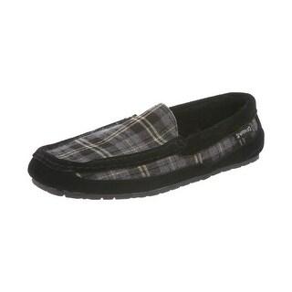 Bearpaw Slippers Mens Peeta Indoor Outdoor Wool Suede