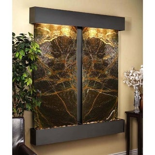 Cottonwood Falls Fountain - Blackened Copper - Squared Edges - Choose Options