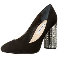 Nina Womens Idabell Satin Pointed Toe Classic Pumps