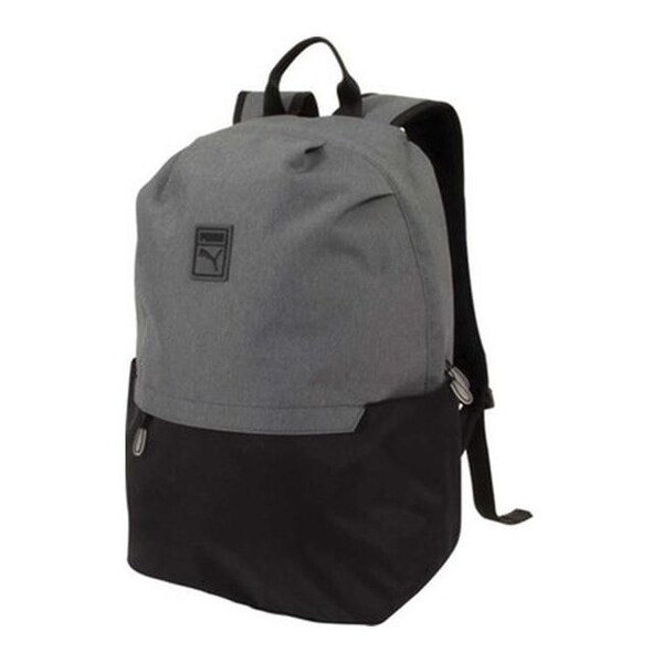 1f8a6ece8d9 Shop PUMA Imprint Backpack Black Grey - US One Size (Size None) - Free  Shipping Today - Overstock.com - 19315669