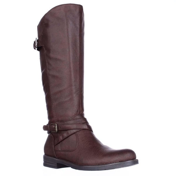 BareTraps Corrie Riding Boots, Brush Brown