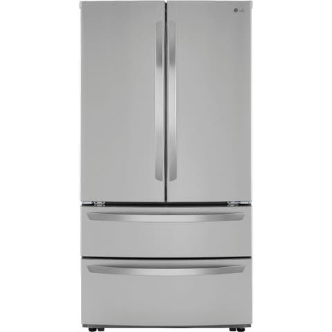 LG LMWC23626S 23 cu. ft. French Door Counter-Depth Refrigerator - Stainless Steel