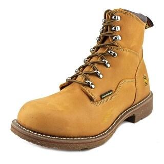 Dan Post Detour Lace Up Waterproof Men Steel Toe Leather Brown Work Boot