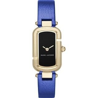 Marc Jacobs Women's Monogram MJ1501 Black Dial watch