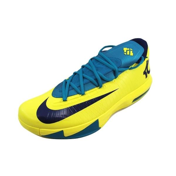get cheap 04216 1c838 Nike Men  x27 s KD VI 6 Sonic Yellow Midnight Navy-Tropical