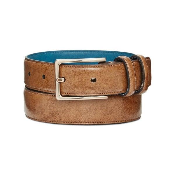 Ryan Seacrest Mens Fashion Belt Leather Buckle