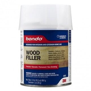 Bondo 20082 Home Solutions Wood Filler, 1 Quarts