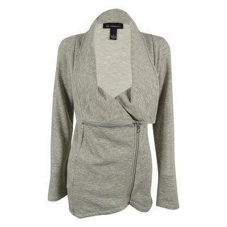 INC International Concepts Women's Zip Front Cardigan Sweater