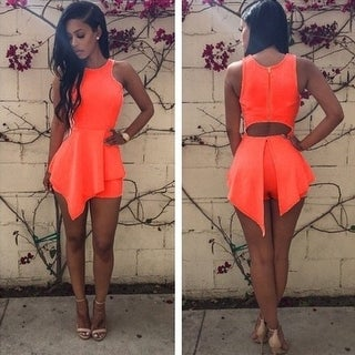 Sexy Sleeveless Jumpsuit Women Macaquinho Bodycon Jumpsuits Shorts Ladies Summer Casual Rompers
