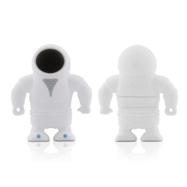 Bone Collection D09042GR 8 GB Spaceman USB Drive, White