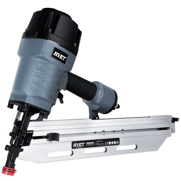 Shop Costway 21-Degree Full Head Framing Nailer 3-1/2\'\' Pneumatic ...