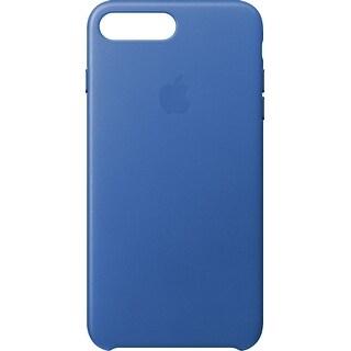 Apple - iPhone® 8 Plus / 7 Plus Leather Case - Electric Blue