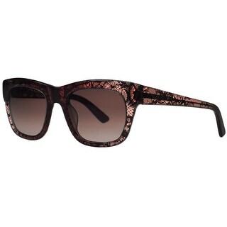 Valentino V 611/S 603 Bordeaux Wayfarer Sunglasses
