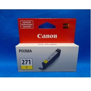 Canon Computer Systems - 0393C001aa - Cli 271 Yellow Ink Tank