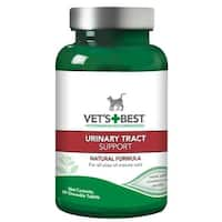 "Vet's Best Cat Urinary Tract Support 60 Tablets Green 2.5"" x 2.5"" x 4.94"""