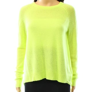 360 Sweater NEW Green Women's Size Small S Crewneck Cashmere Sweater
