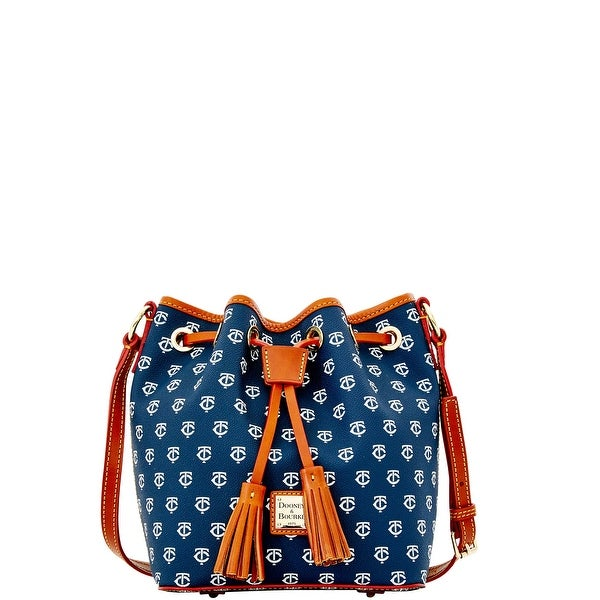 Dooney & Bourke MLB Twins Kendall Crossbody (Introduced by Dooney & Bourke at $228 in Oct 2015) - Navy
