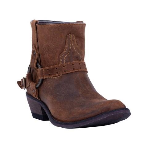 "Laredo Fashion Boots Womens Emersyn Round Toe 5"" Shaft Brown"