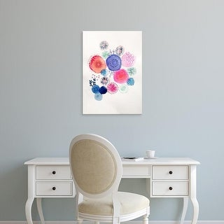 Easy Art Prints Victoria Johnson's 'Rainburst' Premium Canvas Art