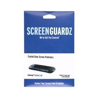 ScreenGuardz Samsung Instinct S30 SPH-M810 Screen Protectors, (15 Pack)