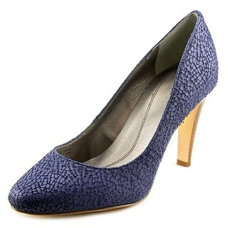 Tahari Naila Women Round Toe Synthetic Blue Heels