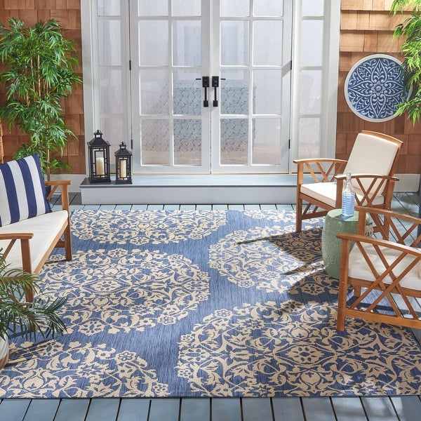 Safavieh Courtyard Fleurine Indoor/ Outdoor Rug. Opens flyout.
