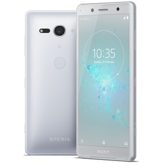 Sony Xperia XZ2 Compact Unlocked Smartphone (White Silver)