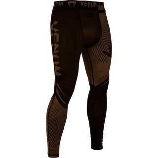 Venum No-Gi 2.0 MMA Compression Spats - Black/Brown