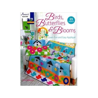 Annie's Birds Butterflies & Blooms Bk