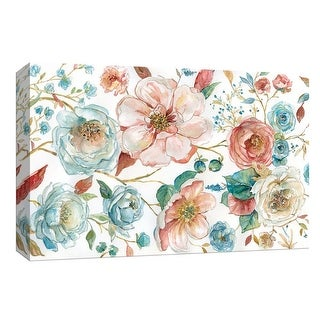 "PTM Images 9-148309  PTM Canvas Collection 8"" x 10"" - ""Rose Garden"" Giclee Roses Art Print on Canvas"